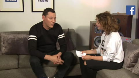 Facebook TV – Tiesto Live Interview